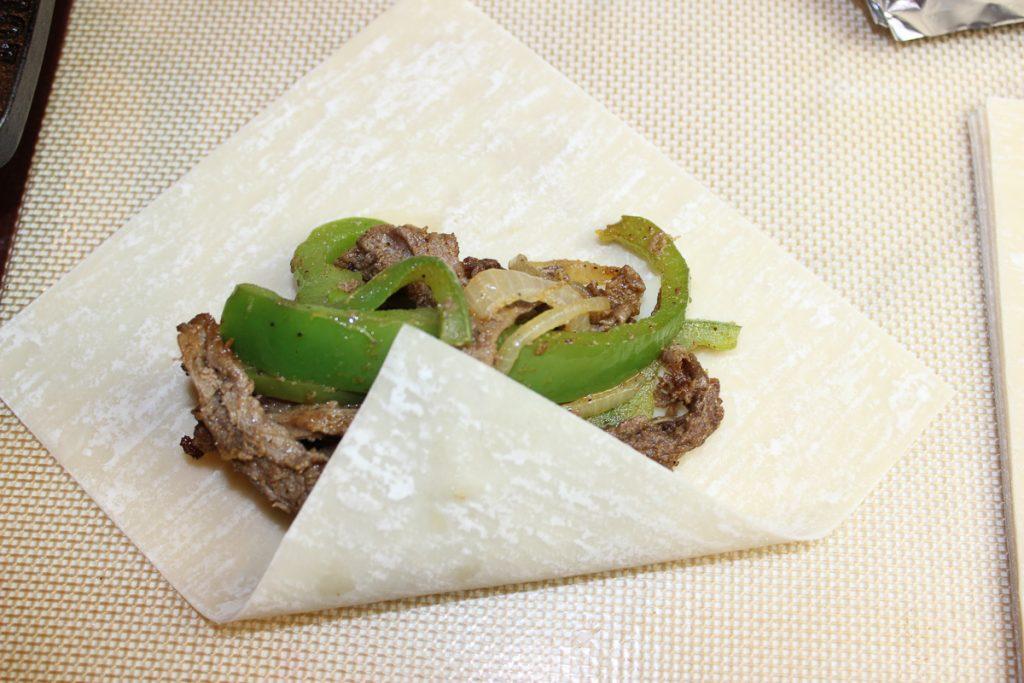 Philly Cheesesteak Eggrolls Recipe