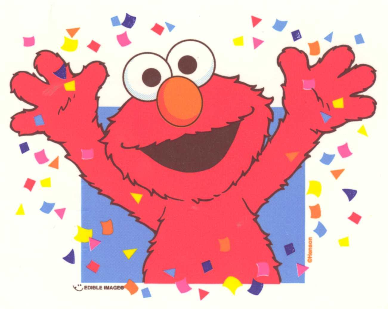 Happy Birthday Elmo  The Spring Mount 18 Pack