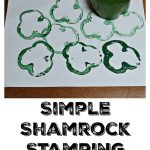 Easy Shamrock Stamp from Peppers