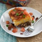 Twice Baked Potato Shepherd's Pie with Beef