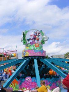 Elmo, Sesame Street, Sesame Place, Flying Fish Ride