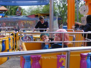 Big Bird Balloon Ride at Sesame Place