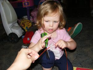 crafts to help toddlers learn scissor skills