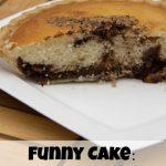 Funny Cake Recipe- Chocolate Breakfast Cake