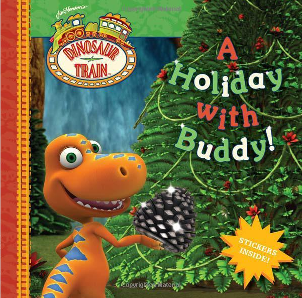 Read Holiday with Buddy while wearing Dinosaur Train PJs