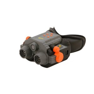 Nerf infrared night vision goggles and camcorder