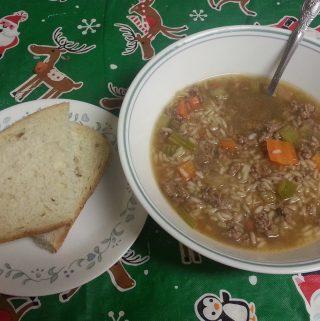 Beef Rice Soup Recipe - Quick & Easy Recipe