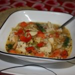 Turkey Vegetable Rice Soup Recipe