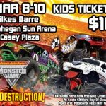 Monster Jam is coming to Wilkes Barre, PA March 8-10