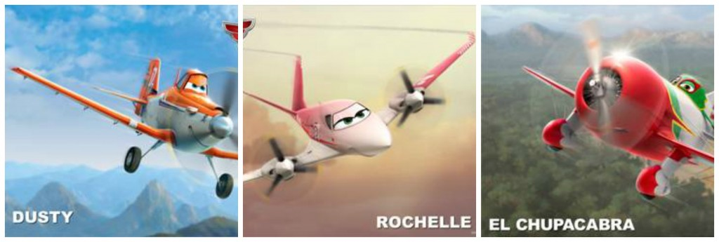 Disney Planes, Who will be the voices on Disney Planes