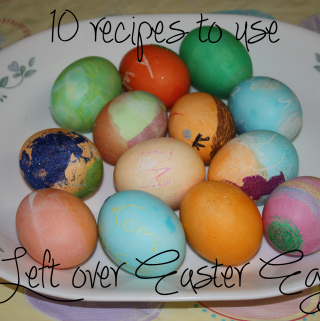10 recipes to use leftover easter eggs
