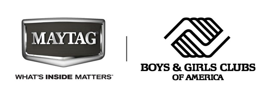 Maytag and BGCA logo.BLISSDOM