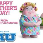 Happy Mother's Day from Monsters U