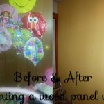 Painting Over Paneling- Remodeling Willow's Room- DIY