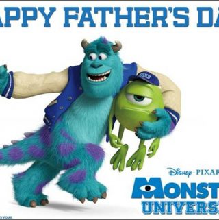 Monsters University father's Day