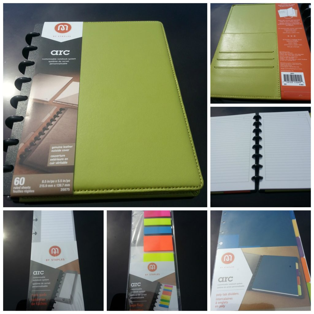 Arc Paper System- Great way to stay organized- The Spring Mount 6 Pack