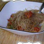 Drunkard Noodles- Thai Dish with Rice Noodles- Easy $10 Dinner