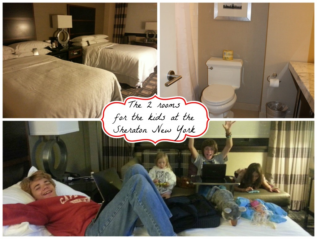 Kids rooms at the Sheraton New York- Hotels in Times Square