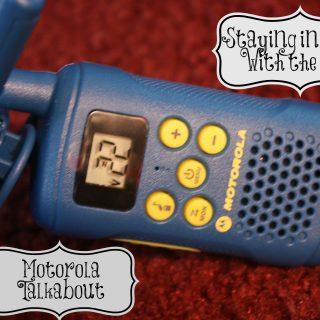 Motorola Talkabout Long range Walkie Talkies