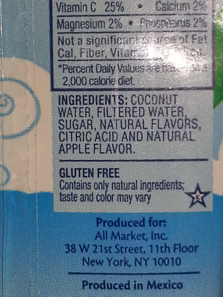 Vita Coco Fruit Flavored Coconut Water for Kids