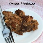 Chocolate Peanut Butter Chip Bread Pudding Recipe- Bread Pudding with a Twist
