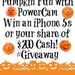Pumpkin Fun with PowerCam – Win an iPhone 5s or your share of $200 Cash! #Contest