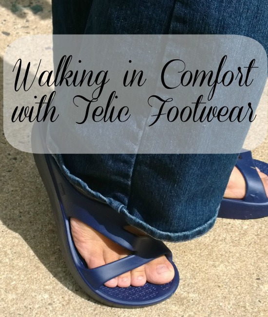 Walking in Comfort with Telic Footwear