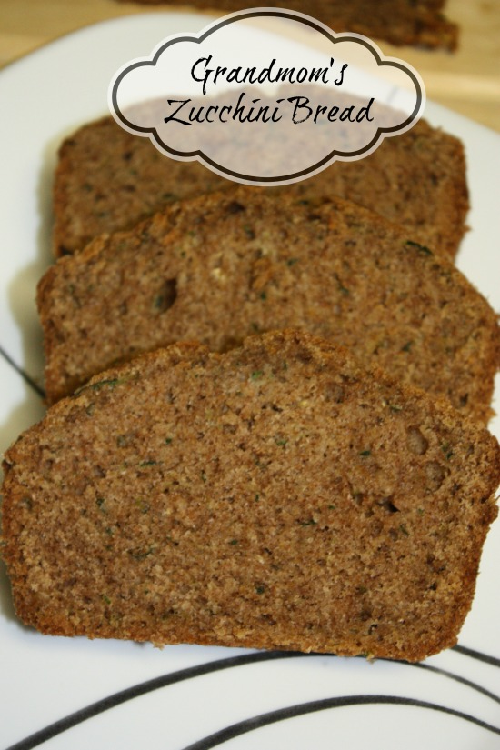 Grandmom's Zucchini Bread is one of my favorite things to make in late summer and early fall. It is a simple Zucchini recipe that is my family's recipe.