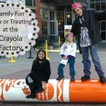 Trick or Treating at Crayola Factory