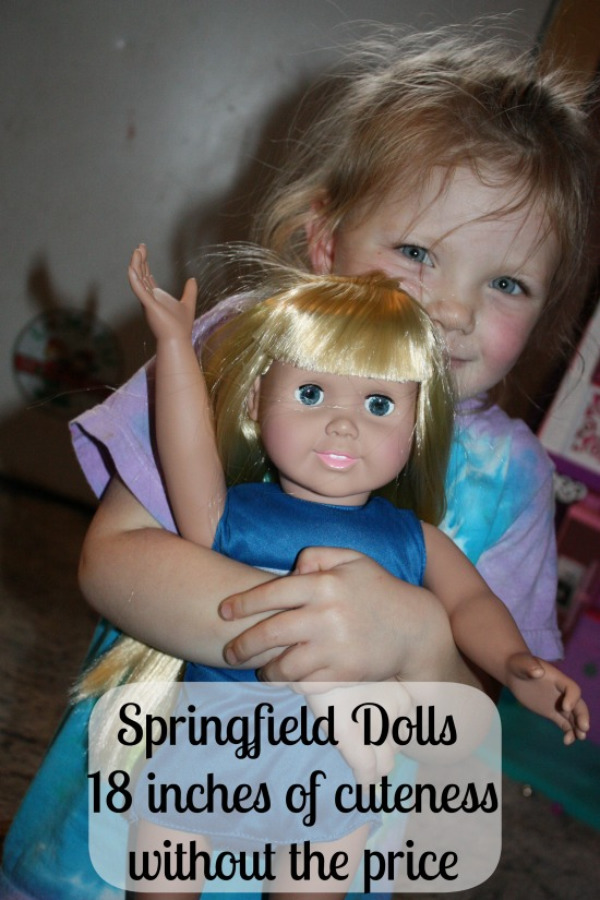 Springfield Dolls- 18 inches of cuteness- without the price 2