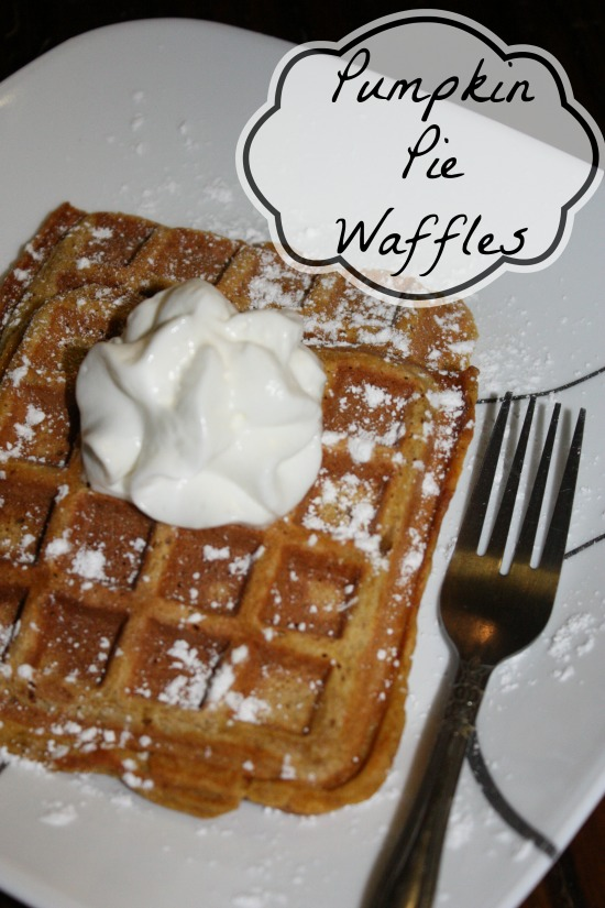 The best tasting Pumpkin Waffles Recipe ever with all the flavors of Pumpkin Pie