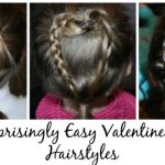 3 Surprisingly Easy Hairstyles for Valentine's Day
