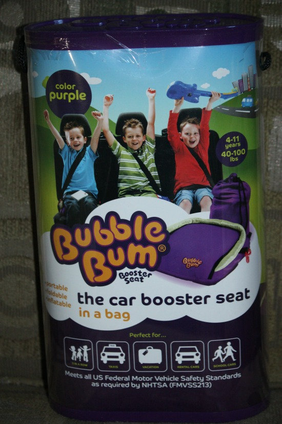 Bubble Bum, Inflatable Booster Seat, Makes Traveling Easier