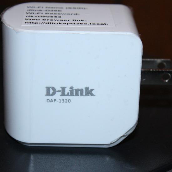 D-Link Wifi signal Range extender