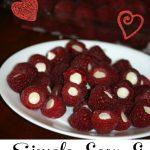 White Chocolate Stuffed Raspberry Treats