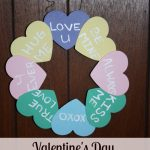 Valentine's Day Sweetheart Wreath Craft