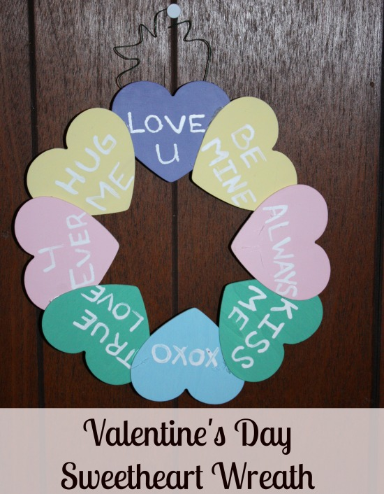 Sweetheart Wreath for Valentine's Day