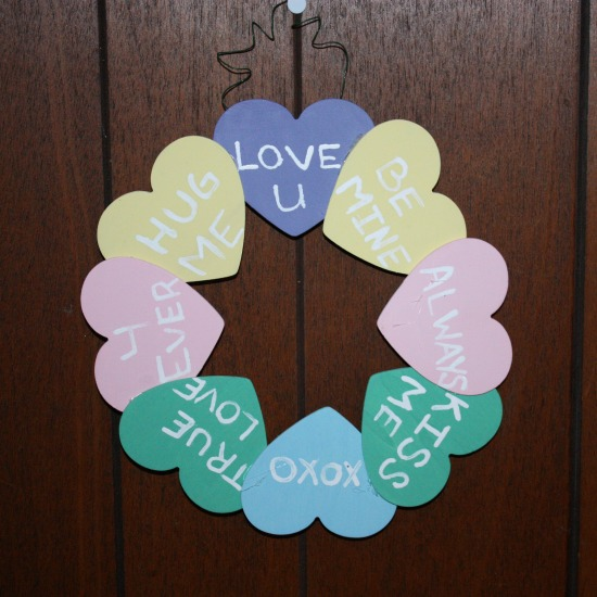 Valentine's Day Sweetheart Wreath
