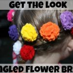 Get The Look: Disney's Tangled Flower Braid