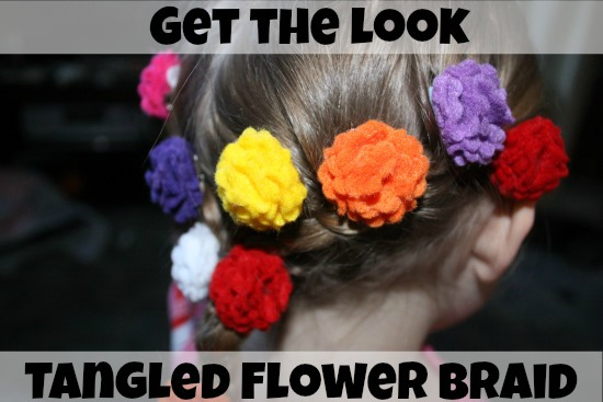 Get the look Tangled Flower Braid