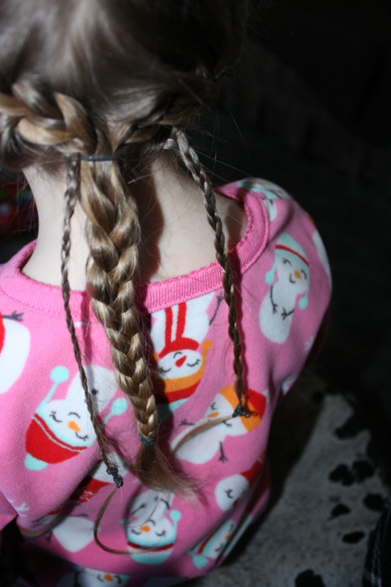 Getting the Disney's Tangled Braid Braid into one