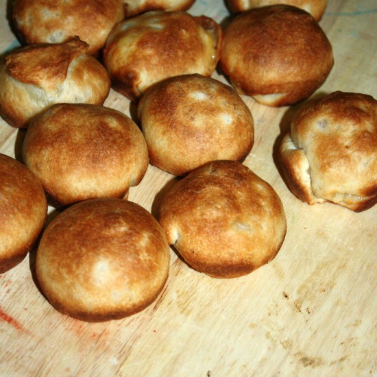 Ham and Cheese Biscuit Bites- whole