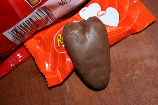 Reeses Heart- Valentines treat