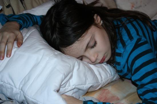 Serenity Sleeping on Reverie Pillow