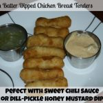Chicken Dipping Sauces: Sweet Chili & Dil Pickle Honey Mustard