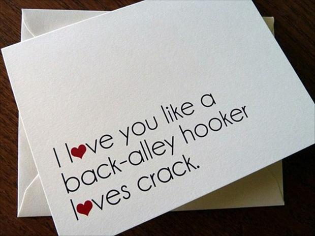 Nontraditional Valentine's Day Cards- Funny Valentine's Day Card- The Spring Mount 6 Pack