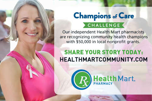 Health Mart is supporting the local champions