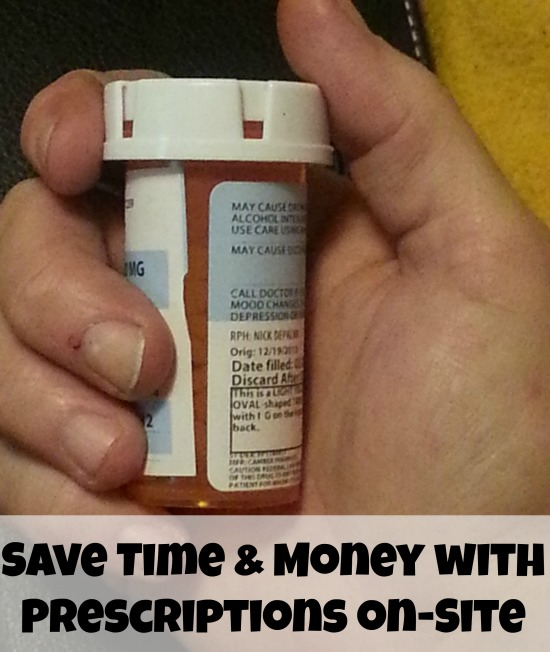 Save time and money with prescriptions on site at Walgreens Healthcare clinic #Shop
