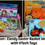 Non Candy Easter Basket Ideas with VTech Toys