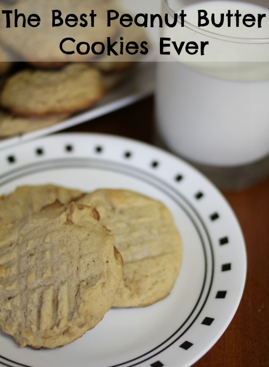 The Best Peanut Butter Cookies Ever
